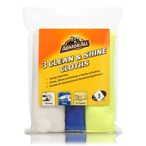3 Clean & Shine Cloths