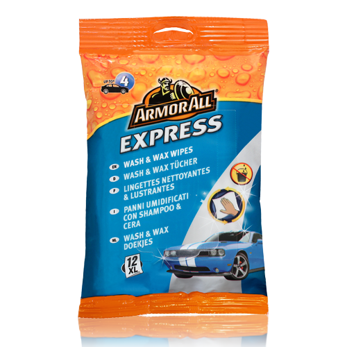 Express Wash and Wax Wipes